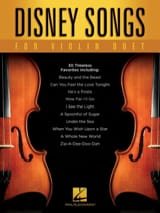 DISNEY - Disney Songs for Violin Duet - Partitura - di-arezzo.it