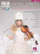 Lindsey Stirling - Violin Play-Along Volume 72 - Selections from Warmer in the Winter - Partition - di-arezzo.fr