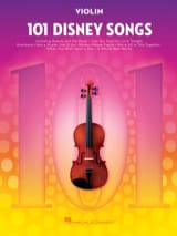 101 Disney Songs DISNEY Partition Violon - laflutedepan.com
