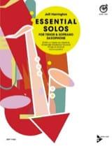 Jeff Harrington - Essential Solos for Tenor & Soprano Saxophone - Partition - di-arezzo.fr