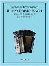 Mon Premier Livre de Bach - Recueil de pièces faciles pour Accordéon laflutedepan.com