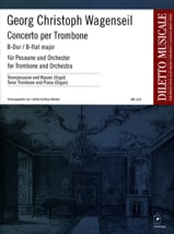 Georg Christoph Wagenseil - Major Bb Trombone Concerto - Sheet Music - di-arezzo.co.uk