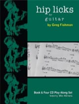 Hip Licks for Guitar Greg Fishman Partition Guitare - laflutedepan