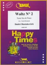 Dimitri Shostakovich - Valse n° 2 tiré de la Suite pour orchestre de variété n° 1 - Partition - di-arezzo.fr