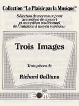 Richard Galliano - Three Images - Sheet Music - di-arezzo.co.uk