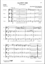 BACH - Aria - BWV 1068 - Sheet Music - di-arezzo.com