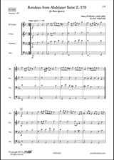 Henry Purcell - Rondeau from the Suite Abdlazer Z. 570 - Sheet Music - di-arezzo.com
