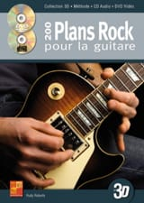 200 plans rock pour la guitare en 3D Rudy Roberts laflutedepan