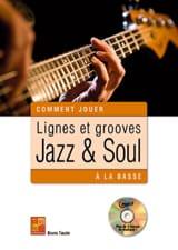 Bruno Tauzin - Linien und Grooves Jazz - Soul am Bass - Noten - di-arezzo.de