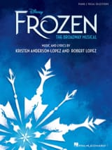 DISNEY - The Frozen - Music of the Musical Comedy, Vocal Selections - Sheet Music - di-arezzo.com