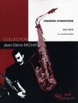 Première Gymnopédie Erik Satie Partition Saxophone - laflutedepan.com