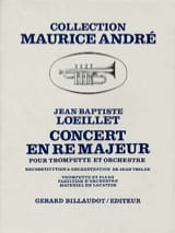 Jean-Baptiste Loeillet - Concert In D Major - Sheet Music - di-arezzo.co.uk