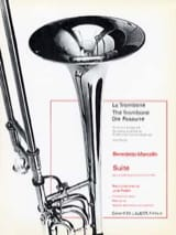 Suite - Benedetto Marcello - Partition - Trombone - laflutedepan.com