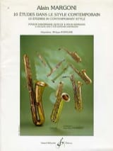 Alain Margoni - 10 Studies - Contemporary Style - Sheet Music - di-arezzo.co.uk
