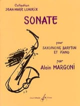 Alain Margoni - Sonata - Sheet Music - di-arezzo.co.uk