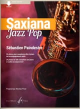 Saxiana Jazz Pop Sébastien Paindestre Partition laflutedepan.com