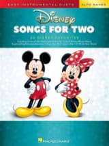 Disney Songs for Two Alto Saxes DISNEY Partition laflutedepan.com