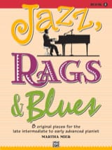 Jazz, Rags & Blues, Book 5 Martha Mier Partition Piano - laflutedepan