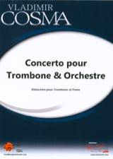Vladimir Cosma - Concerto for Trombone and Orchestra - Sheet Music - di-arezzo.com