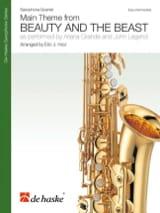 La Belle et la Bête - Quatuor de Saxophones DISNEY laflutedepan.com