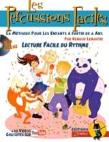 Les Percussions Faciles Renaud Lemaître Partition laflutedepan.com