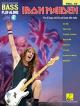 Iron Maiden - Bass Play-Along Volume 57 - Iron Maiden - Partition - di-arezzo.fr