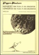 Trygve Madsen - Concerto Opus 35 - Partition - di-arezzo.fr