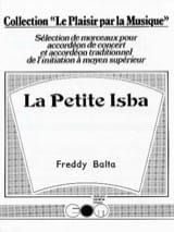 La Petite Isba Freddy Balta Partition Accordéon - laflutedepan.com