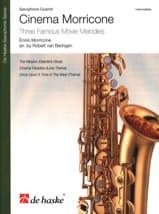 Ennio Morricone - Cinema Morricone - Saxophone Quartet - Sheet Music - di-arezzo.co.uk