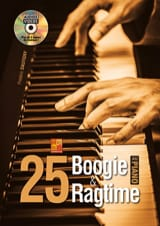 Frédéric Dautigny - 25 boogie - ragtime at the Piano - Sheet Music - di-arezzo.co.uk