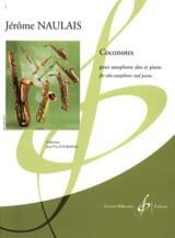Coconotes Jérôme Naulais Partition Saxophone - laflutedepan.com
