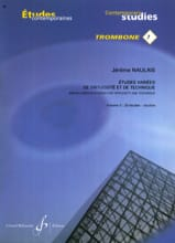 Jérôme Naulais - 7- Varied studies of virtuosity and technique volume 2 - 23 Etudes - Sheet Music - di-arezzo.com