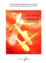 Kansax-City Jérôme Naulais Partition Saxophone - laflutedepan.com