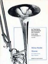Rhizome Mickey Nicolas Partition Trombone - laflutedepan