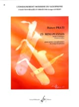 23 Mini Puzzles - Hubert Prati - Partition - laflutedepan.com