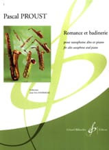 Pascal Proust - Romance and badinerie - Sheet Music - di-arezzo.co.uk