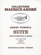 Suite - Henry Purcell - Partition - Trompette - laflutedepan.com