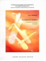 Lucie Robert - Flames And Smokes - Sheet Music - di-arezzo.co.uk
