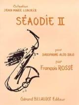 François Rossé - Séaodie 2 - Sheet Music - di-arezzo.com