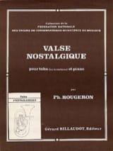 Philippe Rougeron - Valse Nostalgique - Partition - di-arezzo.fr