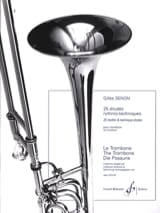 Gilles Senon - 25 Rythmo Techniques Studies - Sheet Music - di-arezzo.co.uk
