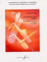 En Attendant Adèle Anders Soldh Partition Saxophone - laflutedepan.com