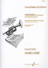 TELEMANN - Concerto In D Major - Sheet Music - di-arezzo.co.uk