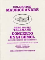 TELEMANN - Bb Concerto - Sheet Music - di-arezzo.co.uk