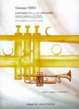 Guiseppe Verdi - Fantaisie N° 1 Sur le Trouvère - Partition - di-arezzo.fr