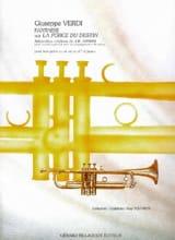 Guiseppe Verdi - Fantaisie Sur la Force du Destin - Partition - di-arezzo.fr