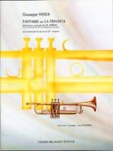 Fantaisie Sur la Traviata VERDI Partition Trompette - laflutedepan.com