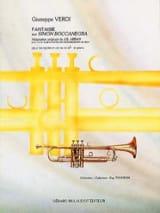 Guiseppe Verdi - Fantaisie Sur Simon Boccanegra - Partition - di-arezzo.fr