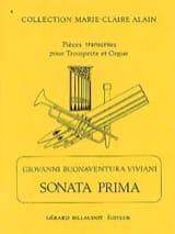 Sonata Prima Giovanni Bonaventura Viviani Partition laflutedepan.com
