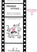 Premier Voyage Volume 1 Partition Saxophone - laflutedepan.com